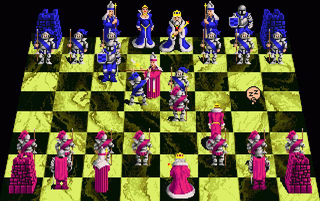 Aliens on pinterest for Battle chess