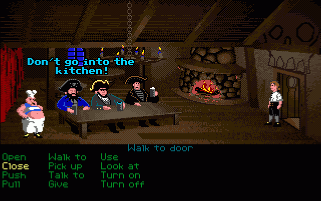 Monkey Island interface image